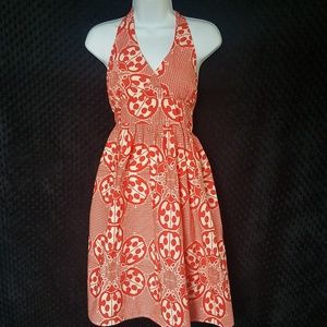 Modcloth ladybug Haute Happenstance halter dress